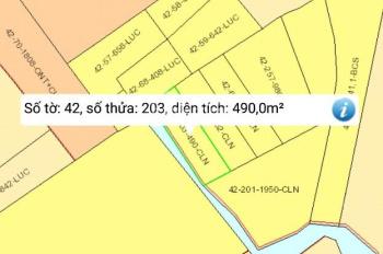 Bán 1 lô đất vườn CLN xã Phước Khánh, 490m2, giá 720 triệu