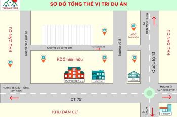 Bán đất Ngô Đức Kế, khu phố 2, Chơn Thành, Bình Phước