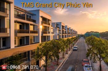 Bán nhà mặt phố 5 tầng kđt TMS Phúc Yên ngân hàng hỗ trợ 50% giá trị lãi suất 0% - 0968781070