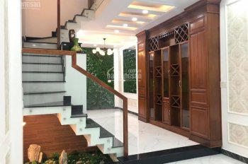 Nhà đường Phan Huy Ích, P15, Tân Bình 4mx12.5m trệt 3 lầu full nội thất giá 4,55 tỷ TL mạnh
