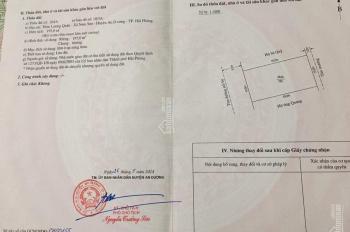 Bán lô đất 195m2 tại chung cư xã Nam Sơn, huyện An Dương, phù hợp xây biệt thự, hoặc làm xưởng