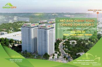 Sự kiện mở bán lần đầu tiên căn hộ chung cư Green City Bắc Giang - tòa lotus 2