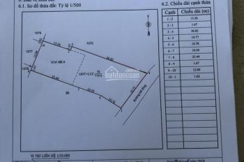 Đất nhà bán tại TP. Bà Rịa, Nguyễn Văn Cừ, DT 773m2 có 300m2 thổ cư, 5,2 tr/m2. 0942223179