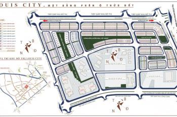 Bảng hàng độc quyền liền kề, giá đầu tư, vị trí đẹp dự án Louis City Đại Mỗ LH: 0941.68.06.06