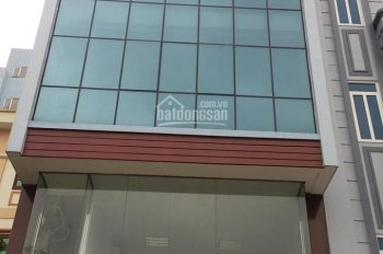 Cho thuê nhà mặt phố Trần Duy Hưng - Trung Hòa, Cầu Giấy. DT 100m2 x 6T, mặt tiền 6m, giá 80tr/th