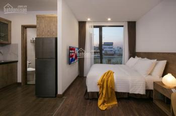 Cho thuê CHDV cao cấp 16 phòng Trần Hưng Đạo Q1 DT: 9.1x12.5m 5 tầng + ST giá 90tr/th