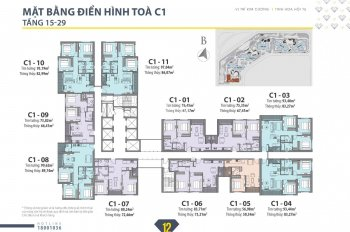 Một số căn hộ 3PN giá tốt dự án D'Capitale Trần Duy Hưng LH 0367616666
