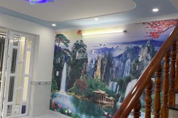 Bán nhà mới ngay Cá Sấu Hoa Cà, 1 trệt 1 lầu, 48m2, hẻm xe hơi, giá 3,65 tỷ. LH 0902302901