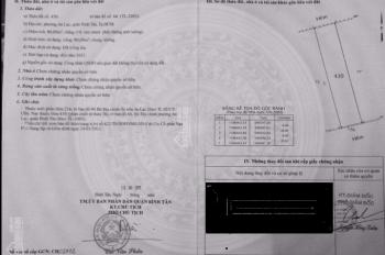 Đất 2 mặt tiền KDC Nam Hùng Vương 4x20m. LH 0862280838
