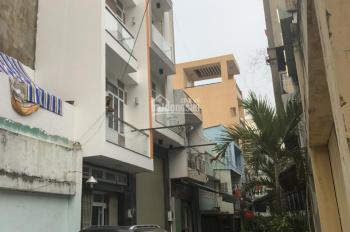 Cho thuê nhà nguyên căn, hẻm xe hơi, 1 trệt 3 lầu, 4 phòng ngủ, nhà sạch sẽ, nội thất hiện đại