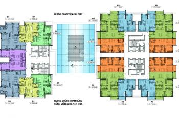 Phòng KD trực tiếp CĐT mở thêm tầng từ 19 - 30, 71.5m2, 86.5m2, 128.6m2. Chiết khấu thêm 6%/GTHĐ