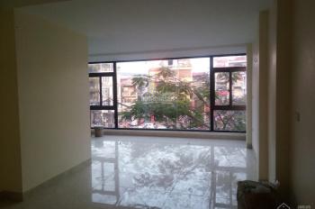 Cho thuê nhà mặt phố Kim Ngưu, 50m2 x 5.5T, MT 5.5m, thông sàn, thang máy, ngã ba cầu, mặt nhà kính