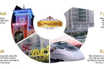 The PegaSuite 2 - duy nhất 1 căn 2PN (duplex) view trực diện hồ bơi, tầng cao thoáng mát giá nội bộ