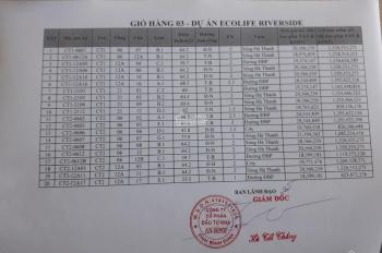 Bán căn hộ Ecolife Riverside Quy Nhơn - 0935 739 686 - Bảng giá trực tiếp Chủ Đầu Tư