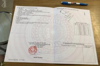 Đất chính chủ Trần Văn Chẩm, diện tích đất lớn 129m2, giá 900tr. LH: 0913137235