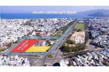 Căn hộ biển Grand Center đầu tư siêu hot, thanh toán 16% trả theo tiến độ giãn, LS0%, LH 0902811192