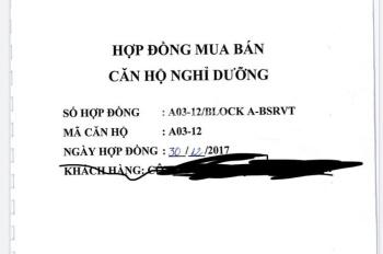 Chính chủ đi Sing bán lỗ 500tr căn 3PN dự án Aria, tầng 3 căn số 1, full NT. LH 0973 610 214 Thạch