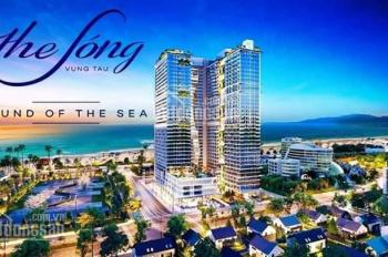 The sóng - căn 2PN tầng cao view trực diện biển DT 72m2 - TP Vũng Tàu, 0941.409.840