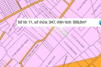 Lô đất rất tuyệt vời nhà đầu tư nhanh tay, 500m2, full thổ cư, gần 25C, LH: 0902.429.778