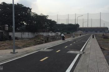 Cần bán lại lô đất đẹp vuông vức 4x14.56m, đường nhựa 7m đối diện trường PT. 0909.339.019