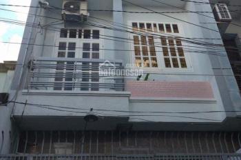 Nhà hẻm 5m Gò Dầu, 4x13m, 1 trệt 2 lầu, 3PN, 3 máy lạnh, giá 10 triệu
