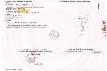 Cần bán đất nền DT 4.5x15m Phường An Phú, TX Thuận An Bình Dương, 67.5m2 giá 1,9 tỷ. LH 0936419555