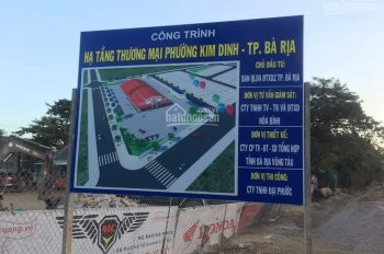 Khu dân cư Kim Dinh 4 trung tâm mới TP Bà Rịa - Vũng Tàu cạnh tổ hợp hóa dầu Long Sơn, KDL Núi Dinh