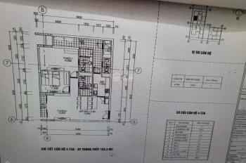 Bán căn hộ 04 tòa NO3 T3 - Horizon Tower, khu Ngoại Giao Đoàn