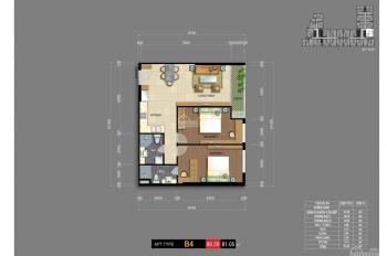Carillon 7 - căn 12 - 66 m2 - 2PN - 1WC - Hướng Bắc, đường Hòa Bình - 2,22tỷ chính chủ 0932424238