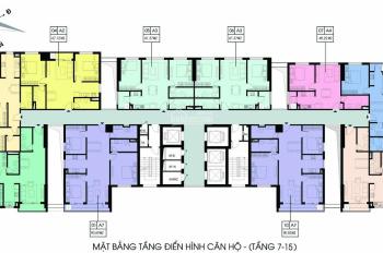 1.950 tỷ căn hộ 3 ngủ - Ban công Đông Nam chung cư Xuân Mai Riverside, Thanh Bình, Mỗ Lao, Hà Đông