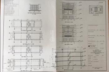 Bán đất DT 129m2 - xây dựng 1 trệt 3 lầu (bản vẽ xây dựng hình mẫu). LH 0941608686