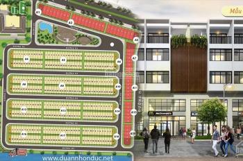 Kẹt tiền bán gấp nền đất shophouse Nhơn Đức VPH, mặt tiền đường chính, 7x20m, giá 5 tỷ, 0918278768