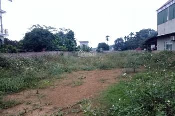 Đất thổ cư mặt đường Phú Mãn, Quốc Oai cần bán gấp