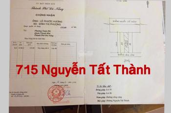 Bán lô đất số 715 mặt tiền Nguyễn Tất Thành nhìn trực tiếp ra biển. LH: 0938.917.985