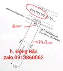 Bán đất mặt tiền Hưng Định 31, đối diện UBND Phường Hưng Định mới, Hưng Định, Thuận An. DT 205,2m2