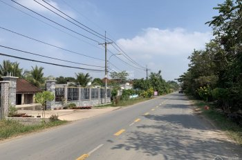 Cần nhượng quyền sử dụng đất sổ hồng riêng 2 mặt tiền đường Nguyễn Thị Rành, xã Trung Lập hạ
