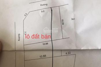 Bán lô góc 2 mặt tiền giá rẻ Liên Nghĩa, Văn Giang, Hưng Yên giá 4xx triệu