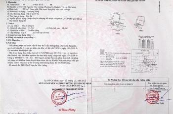 Chính chính chủ nhà Nguyễn Văn Luông hẻm 240 vào 50m