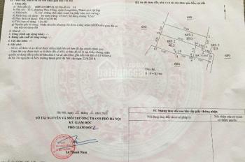 Bán đất chính chủ mặt ngõ làng Sài Đồng cạnh hồ Sài Đồng, chợ Phúc Đồng, DT: 45m2 giá 1,7 tỷ