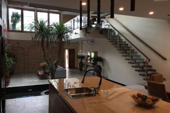Villa cho thuê 10x11m tiện nghi trệt 3 lầu 5PN Thảo Điền, LH 0936.80.08.79