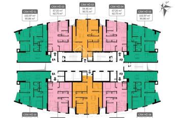 Bán lỗ 200tr CC Imperia 360 Giải Phóng, 1804-IP3: 62.73m2 & 1606-IP1 120m2 giá 27tr/m2 0971.085.383