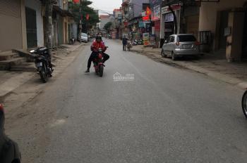 Bán lô đất 40m2 mặt đường trục giữa làng kinh doanh Hải Bối, Đông Anh, Hà Nội
