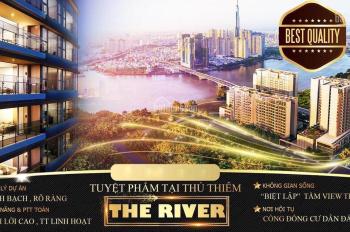 The River Thủ Thiêm - Quận 2, giá: 140 triệu /m2. LH: 0913777970