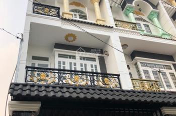 Bán nhà hẻm 5m đường số 10, P BHH B, Bình Tân, 4x18m, đúc 3 tấm nhà thiết kế đẹp, LH: 0938083638
