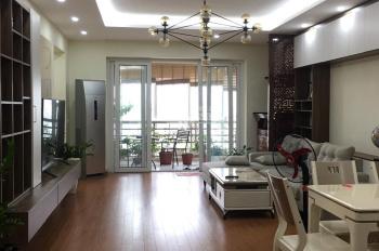 Tôi cho thuê CHCC 71 Nguyễn Chí Thanh căn góc, 115m2, 3pn, đủ đồ, giá chỉ từ 14 tr/th. 0981630001