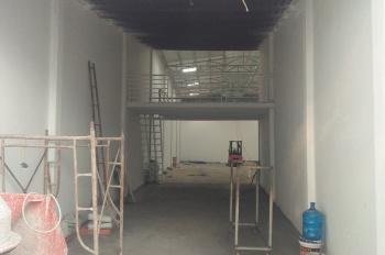 Nhà kho mới xây 330m2 có thể làm kho xưởng gần ngã 3 chợ đầu mối Củ Cải - Hóc môn