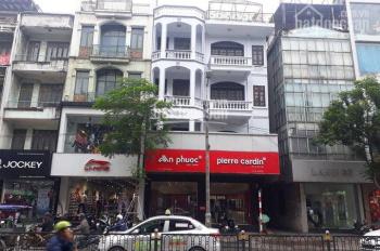 Cho thuê nhà mặt phố Quang Trung, Hà Đông, ngay ngã tư đẹp 180m2 x 4 tầng, MT 9.2m siêu vip