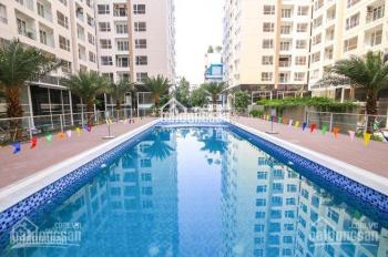 Sky Center Hưng Thịnh bán gấp căn 2PN 74m2 PNT lầu 10 view hồ bơi, 3,2 tỷ. LH 0901671233