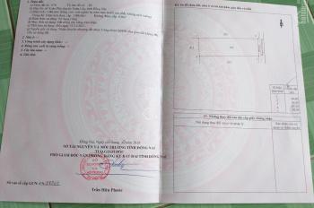 Bán đất hẻm bê tông xe hơi, 20.5m*68m, Xuân Phú, Xuân Lộc, Đồng Nai, giá 1.25 tỷ (TL), 0901433596