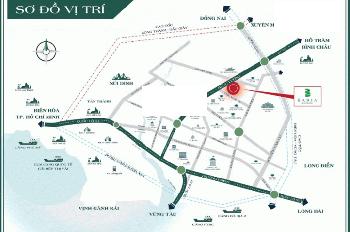 Bán đất nền sổ đỏ mặt tiền Hùng Vương trung tâm TP Bà Rịa vị trí đẹp